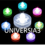 3 Velas Led Sumergibles Electronicas Cotillon Luminoso Fiest