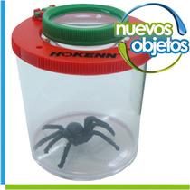 Juguete Lupa Visor Insectos Hokenn Con Araña De Juguete