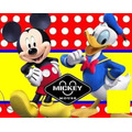 Kit Imprimible Mickey Mouse Y Donald Cumpleaños Fiesta Torta
