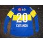 Camiseta Boca Juniors 2011-2012 Manga Larga N°20 Cvitanich