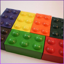 Crayones - Souvenirs - Bloques De Lego X 48 Un
