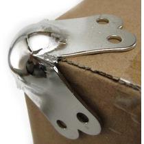 Esquinero Metalico Cromado X8 Unidades Para Bafles