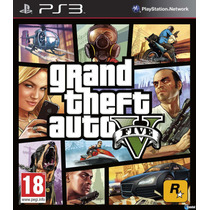 Gta V Version Dig. Ps3 Entrega En El Dia