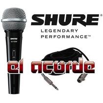 Shure Sv100 Microfono Profesional C/cable 4.5m - El Acorde