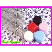 Tubos Golosineros Confiteros X 10 U. 15 Cm Candy Bar Ensayo