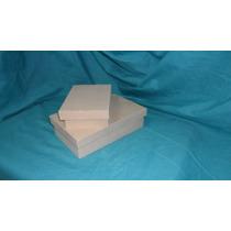 Cajas Tipo Zapato Fibrofacil 19 X 12 X 5 Cm Morema Trece