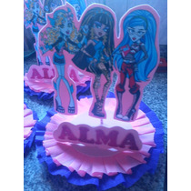 Monster High Centros De Mesa X5