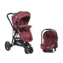Coche Travel System Kiddy Compass Plus Ultraliviano Bb Feliz