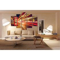 London Paisaje En Bastidor Tela Canvas De 160x110 Cm Exelent