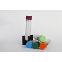 Tubos De Ensayo Con Tapa Plastica V/colores 30unidx$