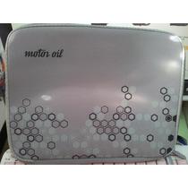 Funda Notebook Netbook 10 Pulgadas Motor Oil 25x20cm
