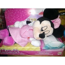 Peluches Mickey Minnie Pluto Donald Ronca Bosteza 30 Cm