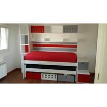 Claudia muebles cama nido todo para tu dormitorio en for Camas puente infantiles