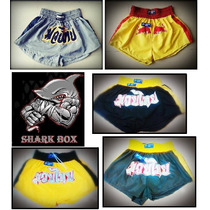 Short Markick Kick Boxing Muay Thai Vale Todo Bordados!!!