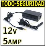 Fuente Switching 12v 5a 5amp Luz Tira Led Camara Cctv Regula