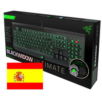 Teclado Razer Blackwidow Ultimate Letra Ñ Mecanico Mx Green