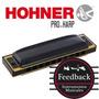Hohner Pro-harp - Armonica (ms) Diatonica 20v - Abs - B