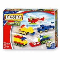 Blocky Set De Vehículos 3 200 Piezas Para Armar