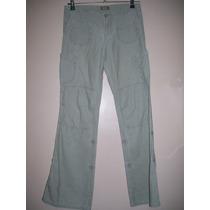 Pantalón Mujer Talle Xs Microcorderoy