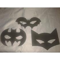 Mascaras Y Antifaces En Goma Eva.pack X 10 Unidades