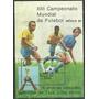 Block Estampilla Brasil Año 1985 Mundial Futbol Mexico 86