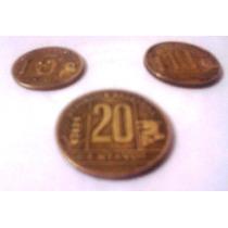 Lote Monedas 5, 10 Y 20 Centavos Argentina (1944-1950)