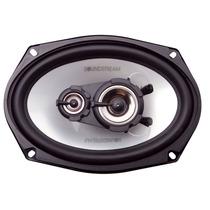 Combo Parlantes 6x9 Soundstream 100w Rms + Caja Acustica 6x9