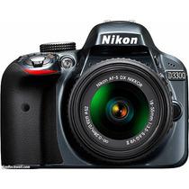 Nikon D3300 Kit 18-55 24 Mp + Sd 16gb Clase 10 Sup.d3200