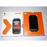Celular Nextel I867 Negro En Caja Internet Whatsapp Facebook