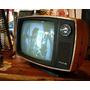 Televisor Byn Retro Philco Naranja !! Funciona (3339)