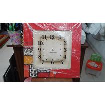 Relojes De Madera - 40x40cm - Hermosos Diseños!