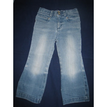 Pantalon Jeans Nena, Cherokee, Importado, Hermoso, T.4 Añ