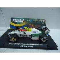 Williams Fw08c Ayrton Senna 1983 1/32 Fly Scalextric Novedad