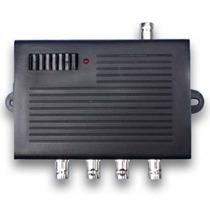Distribuidor De Video 1x4 Camaras Seguridad Amplificador Bnc