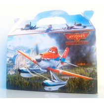 Cajita Bolsita Aviones Souvenirs Infantiles Pack X100