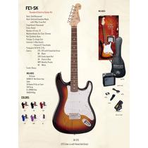Combo De Guitarra Elec Sx+ampli+funda+afinador+correa+cable