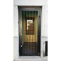 Puertas Rejas Reforzadas 2 Cerraduras Excelente $2100