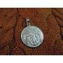 Dije Medalla Virgen Desatanudos De Plata 925, Gtia! D12