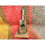 Miniatura Guitarra Criolla Madera Tallada Artesania
