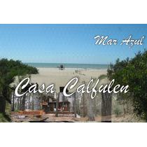 Alquiler Casa En Mar Azul - Temporada 2015