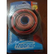 Kit De Cables Para Instalar Potencia De Auto