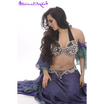 Traje Piedras Y Strass Para Danza Arabe Belly Dance Oferta