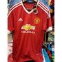 Camiseta Nueva Manchester United Adidas 2016. Importada