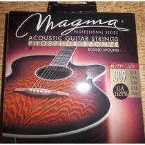 Encordado Acústica Magma 009 Bronce Fosforado