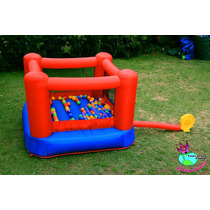 Mini Inflable (2.14x2.14x1.32mts) Usado En Excelente Estado!