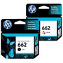 Cartucho Hp 662 Negro + Color Original X Par 2515 3515