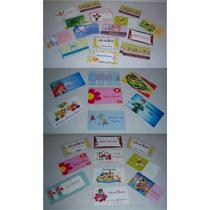 Tarjetas Personales Infantiles
