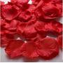 100 Petalos De Rosa Artificiales De Tela Rojos