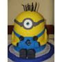 Torta Decorada Minnions 3d