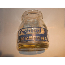 Leche La Martona -frasco Antiguo Yogur -no Botella Publicida